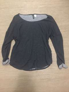 Repriced! H&M Gray Sweater