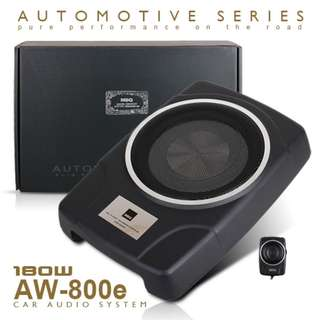 "MBQ AUDIO AW-800D 8"" Underseat Active Subwoofer"