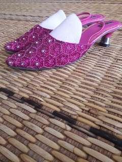 Shocking pink shoe