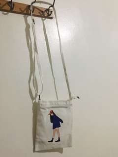 Korean Girl Ulzzang Canvass Bag
