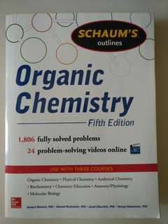 Organic Chemistry (5th edi) Schaum's Outlines