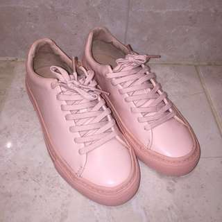 Zara Trafaluc Pink Shoes