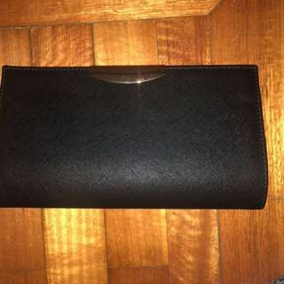 Brand new Colette black clutch