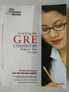 GRE chemistry subject test (princeton review)