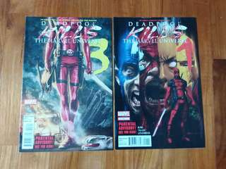 Marvel - Deadpool kills the marvel universe #1 & #3