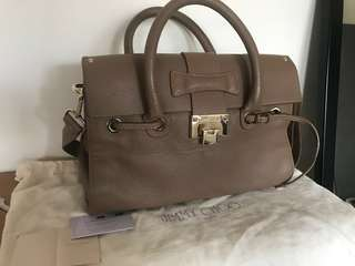 Jimmy choo leather 2 way bag