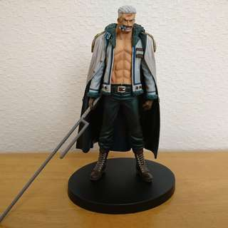 One Piece SMOKER COLONEL Figures DXF Grandline Men BANPRESTO