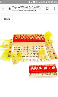 Category Box - Wooden Sorting Toys
