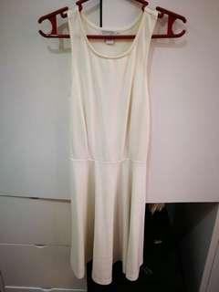 Cotton On White Skater Dress
