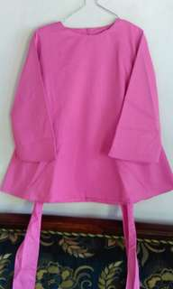 Blouse polos pink