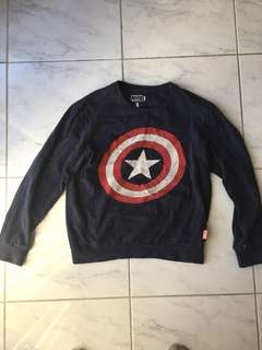 Captain America Marvel Sweatshirt