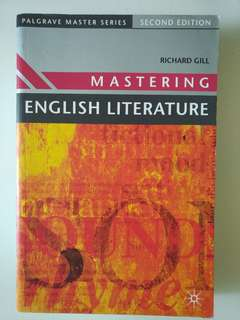 Mastering English Literature by Richard Gill