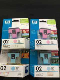 HP photosmart printer ink HP 02 BNIB