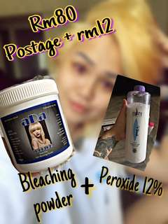Bleaching set , Hair Colour , Hair dye