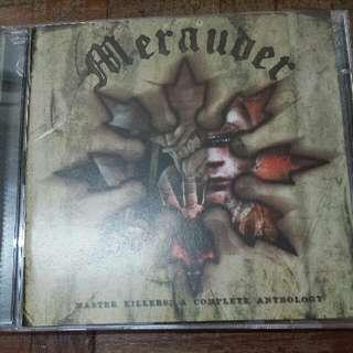Music CD (2×CD): Merauder–Master Killers: A Complete Anthology - Hardcore