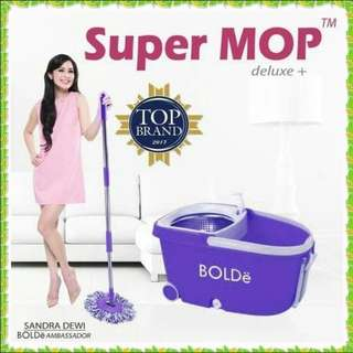 Promo Supermop Deluxe+ Stainless Like Solitare