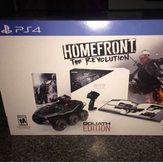 PS4 Homefront The Revolution Goliath Edition (R-All)