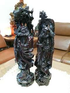黃楊木雕刻達摩祖師