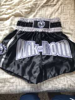 wik-rom muay thai shorts