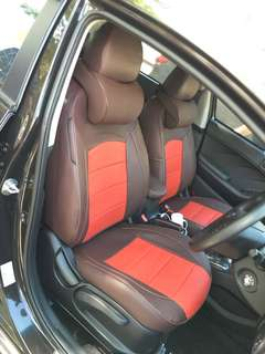 Kia cerato k3 leather seat cover (Customise)