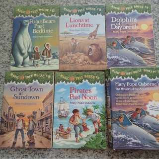 The Magic Treehouse - 5 books