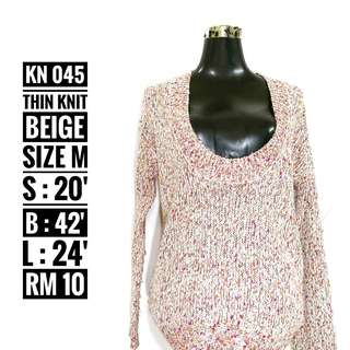 Knitted Top - KN 045