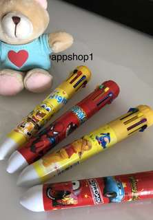 10 colors pen for children party goodies favors, goodie bag packages, goody bags gift, party door gift