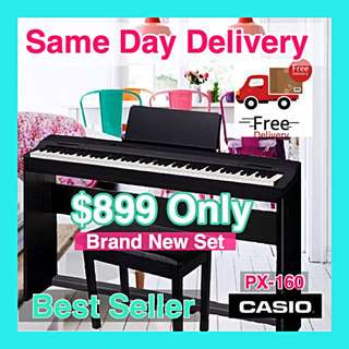 Best Seller- Brand New Casio Px-160 Digital Piano