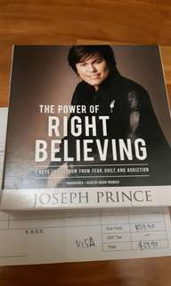 The power of Right Believing 9 CD set