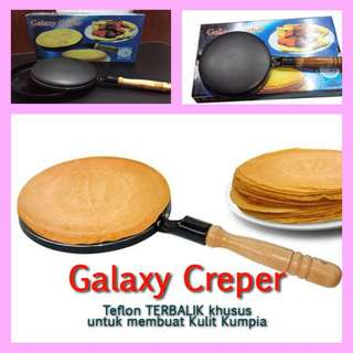 Wajan Kwalik Galaxy Crepes Maker Creper Teflon Crepe Anti Gosong