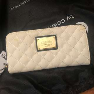 Brand new Colette white wallet