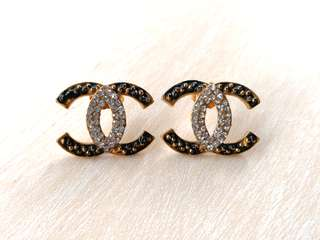 Chanel Inspired Party Earrings