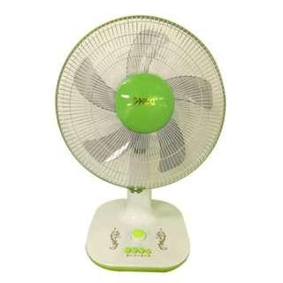 """16"""" Inch Electric Desk Fan HUG D16-A18 (Green)"""