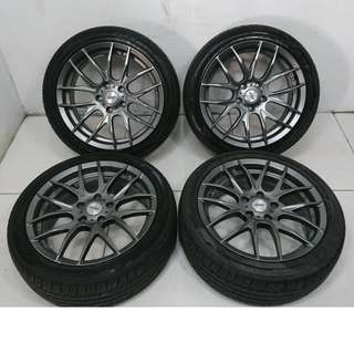 17 '' Sports Rim With Tyres 5x114.3 (SR1059)
