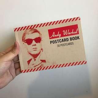 Andy Warhol's postcard book
