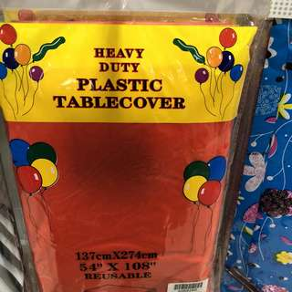 Party plastic Table cover