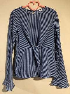 BN Long Sleeve Stripes Top