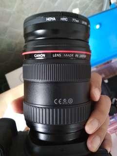 Lensa Canon 24 70 f2.8 L mark 1