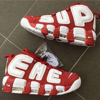 Nike Supreme + Air More Uptempo