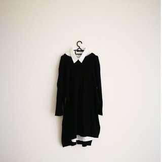 Two-piece long sleeve top/dress