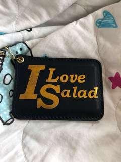 Salad 銀包 八達通咭套 藍色