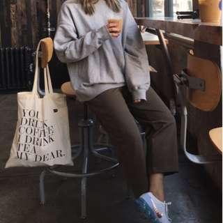 You Drink Coffee I Drink Tea Tote / Ecobag