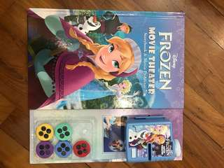 Frozen movie theater storybook