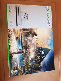 XBOX ONE S BUNDLE WITH ASSASSIN'S CREED