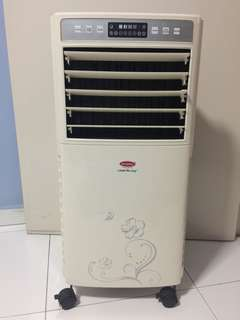 EuropAce Air Cooler model ECO 051 with remote conyrol