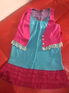 Set Dress + Outer BluePink