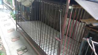Dog cage 7x3x3 ft with 2 door access