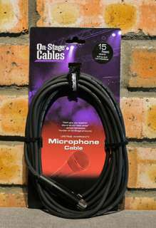 On Stage Cables Microphone Cable 15feet