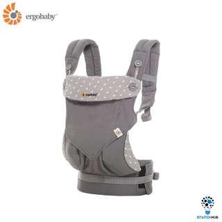 [Pre-Order] Ergobaby Four Position 360 Baby Carrier | Dewy Grey [BG-BC360ADWGY]