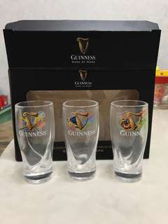 Limited Edition Guinness Miniature Glass Set